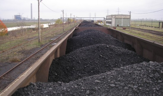 Furt de cărbune direct din tren, la Plopșoru